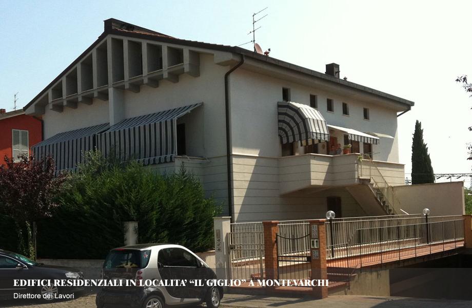 Edifici residenziali in lottizzazione Il Giglio – Lotto C6 e D11 a Montevarchi