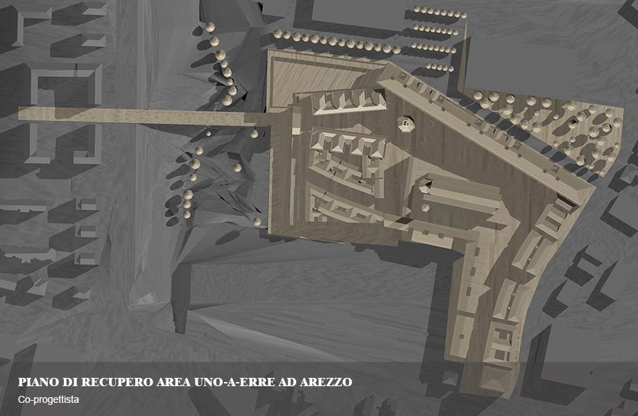 Progetto di recupero e riqualificazione dell'Area Uno-A-Erre ad Arezzo