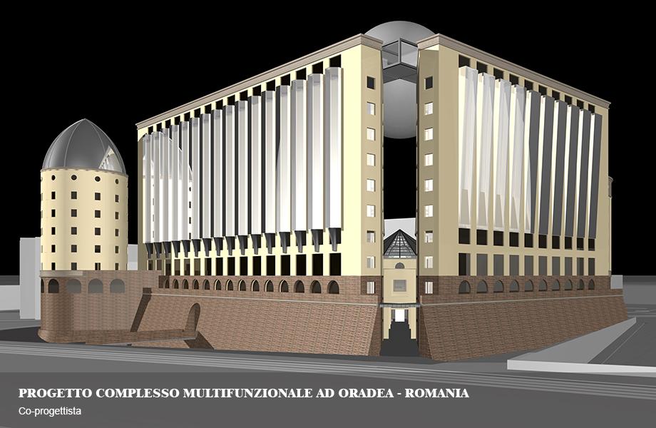 Complesso Multifunzionale con servizi collettivi ad Oradea, Romania