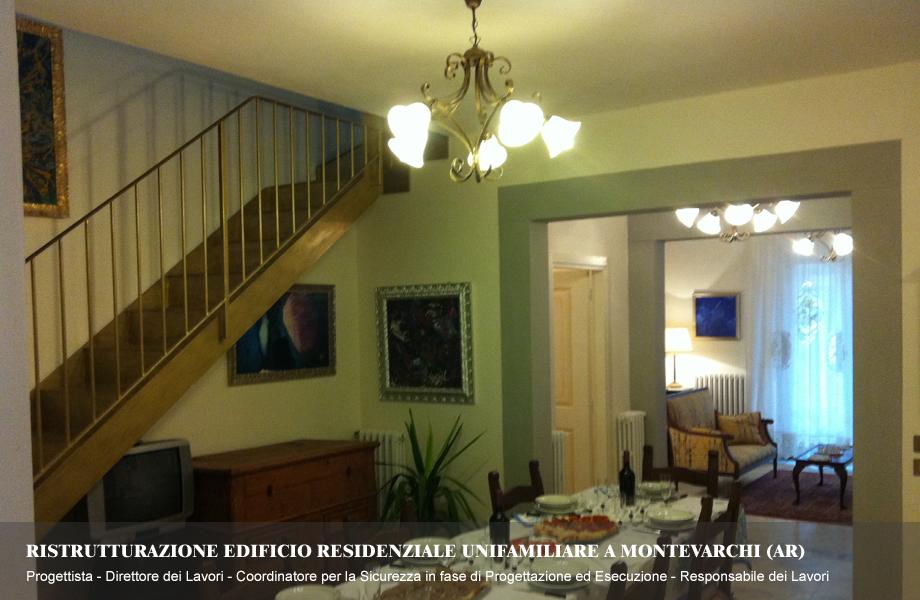Ristrutturazione di Villa con resede privato a Montevarchi