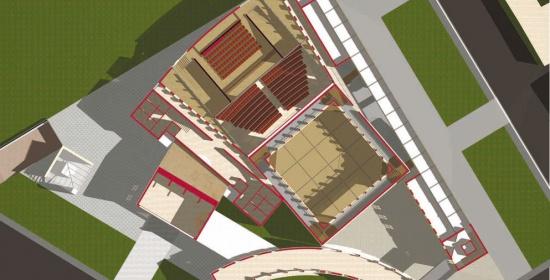 Progetto per il Nuovo Teatro di Estepona in Spagna