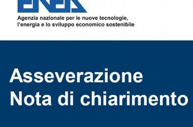 Nota Asseverazione dell'ENEA